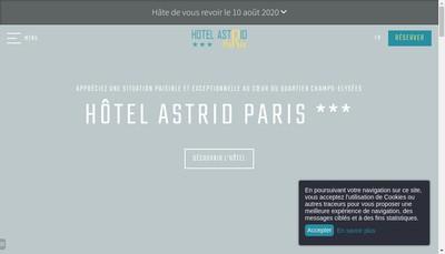 Site internet de Astrid