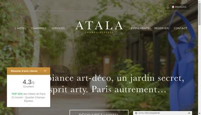 Site internet de L'Atalante