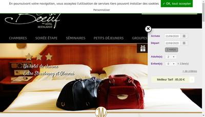 Site internet de Au Boeuf