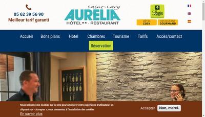 Site internet de Hotel Aurelia
