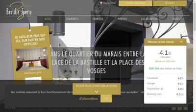 Site internet de Bastille Speria
