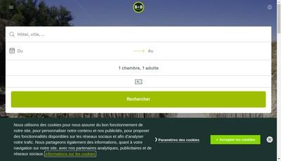 Site internet de BB Hotel