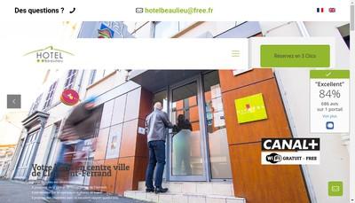 Site internet de Hotel Beaulieu