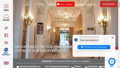 Site internet de Hotel Beausejour Cafe Riche