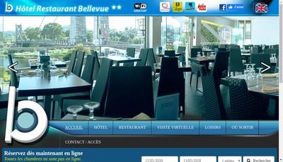 Site internet de Hotel Restaurant Bellevue