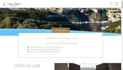 Site internet de Cala Di Greco