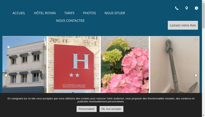 Site internet de Agath ' Hotel