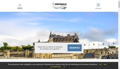 Site internet de Hotel Chaptal