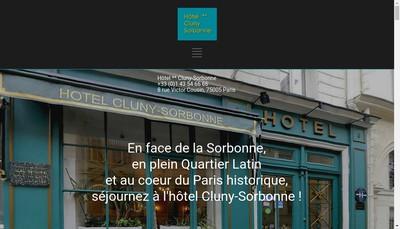Site internet de Cluny Sorbonne