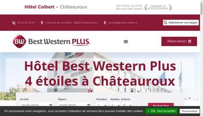 Site internet de Hotel Colbert