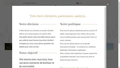 Site internet de A Piattatella