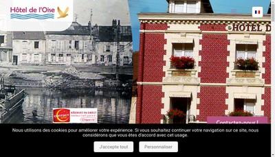 Site internet de Hotel de l'Oise