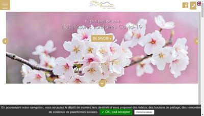Site internet de Hotel le Mas des Amandiers