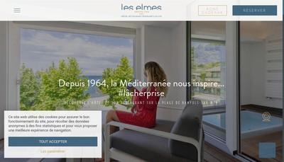 Site internet de Hotel les Elmes