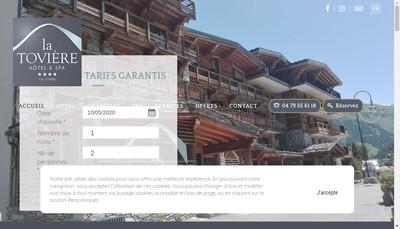 Site internet de La Toviere