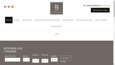 Site internet de Elkartea - Nive