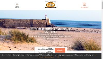 Site internet de Hotel du Cap