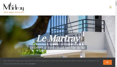 Site internet de Le Martray