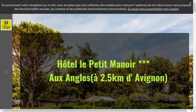 Site internet de Le Petit Manoir