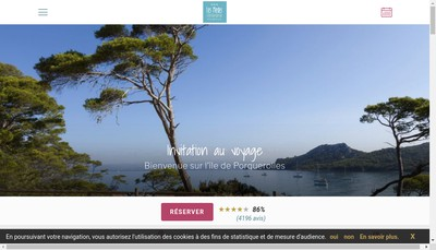 Site internet de Hotel Res des Medes