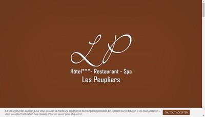Site internet de Les Peupliers