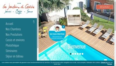 Site internet de Les Jardins du Campanile