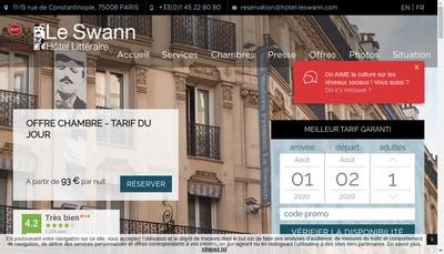 Site internet de Quality Hotel Opera Saint Lazare