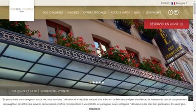 Site internet de Grand Hotel
