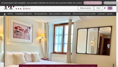 Site internet de SARL Hotel des Messageries