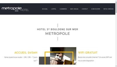 Site internet de Metropole