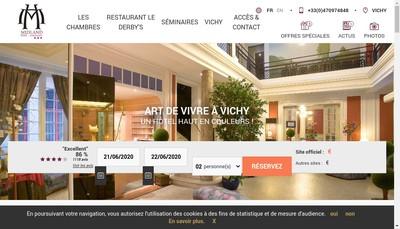 Site internet de Restaurant le Derby'S