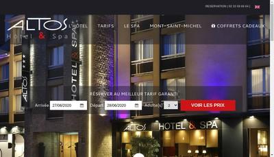 Site internet de SARL Altos