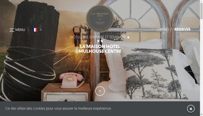 Site internet de Hotel Kyriad Mulhouse Centre