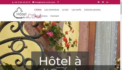 Site internet de Hotel a l'Oriel