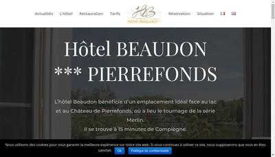 Site internet de Hotel Beaudon