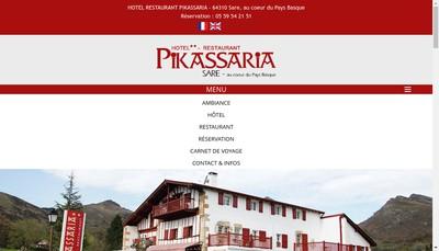 Site internet de Hotel Pikassaria