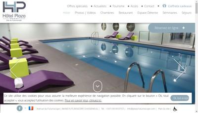 Site internet de Clarion Hotel