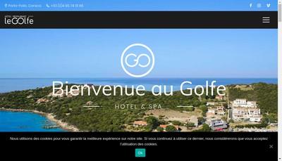 Site internet de Le Golfe