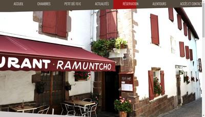 Site internet de Hotel Ramuntcho