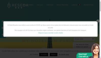Site internet de Reseda
