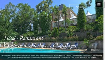 Site internet de Chateau des Herbeys