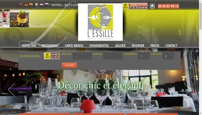 Site internet de L'Essille