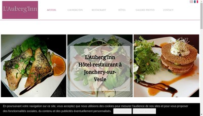 Site internet de L'Auberg'Inn