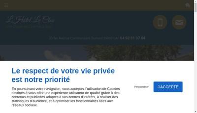 Site internet de Le Clos