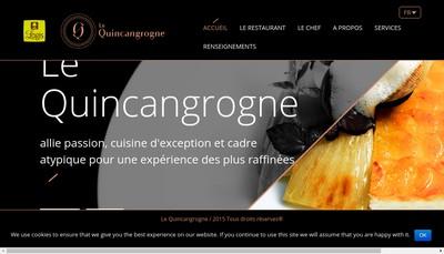 Site internet de Le Quincangrogne
