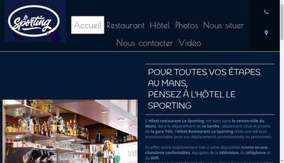 Site internet de Sporting Hotel