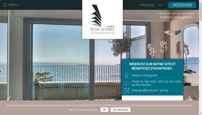 Site internet de Residence Hotel Royal