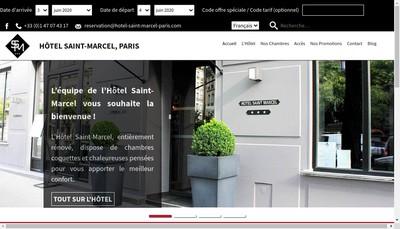 Site internet de Grand Hotel Jeanne d'Arc