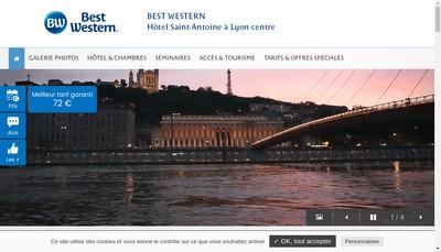 Site internet de Comfort Hotel Saint Antoine