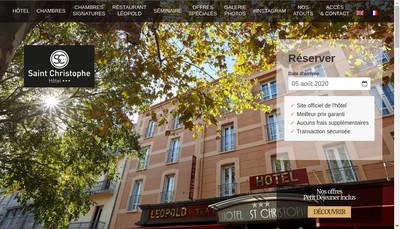 Site internet de Relais St Christophe
